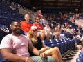 Enjoying a Phillies games, 2017 Philadelphia Fellows enjoy the camaraderie.