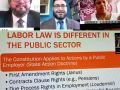 Saturday Afternoon Workshop entitled Public Sector Labor Law